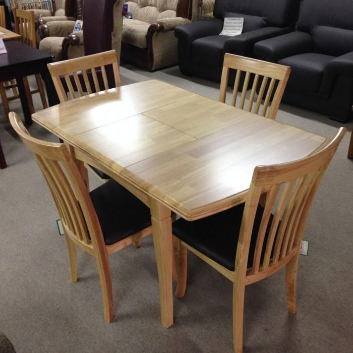 Malaga Extending Dining Table With 4 Chairs – Flintshire, Chester With Regard To Extendable Dining Table And 4 Chairs (Image 13 of 20)