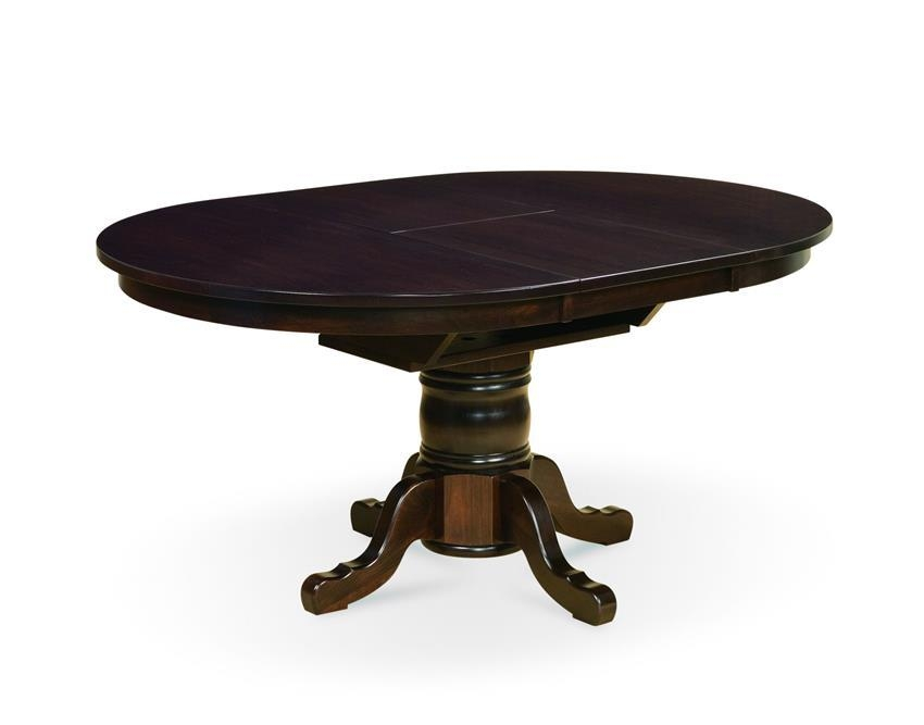 Marbella Single Pedestal Dining Table With Butterfly Leaf Within Marbella Dining Tables (Image 17 of 20)