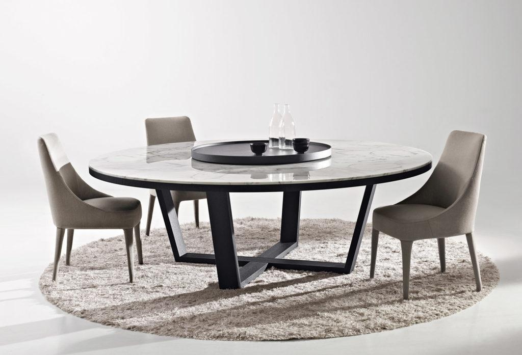 Marble Dining Table Design Ideas, Cost And Tips – Sefa Stone Intended For Sleek Dining Tables (Image 11 of 20)