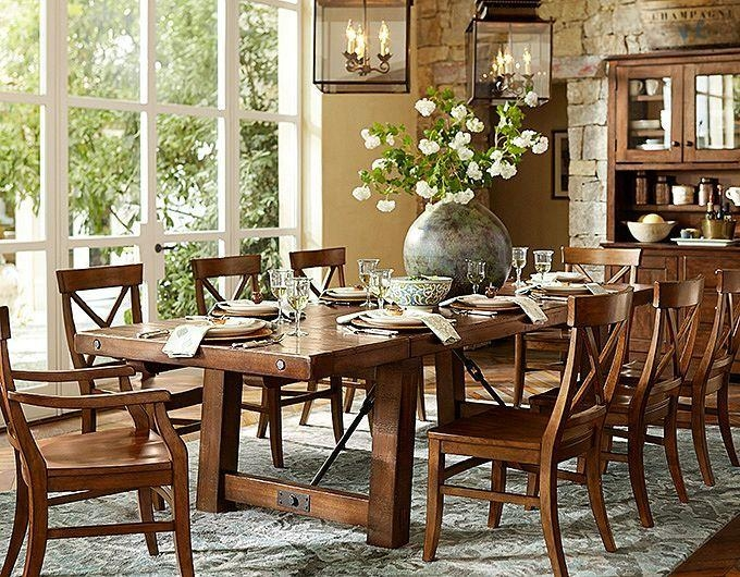 Marvellous Dining Room Sets Pottery Barn Contemporary – 3D House Throughout Barn House Dining Tables (View 10 of 20)