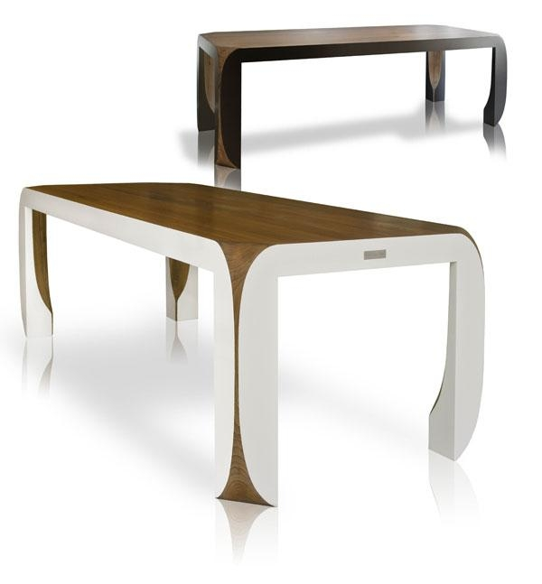 Marvelous Design Furniturejules And Jeremy Is Modern And Chic Intended For Sleek Dining Tables (Image 12 of 20)