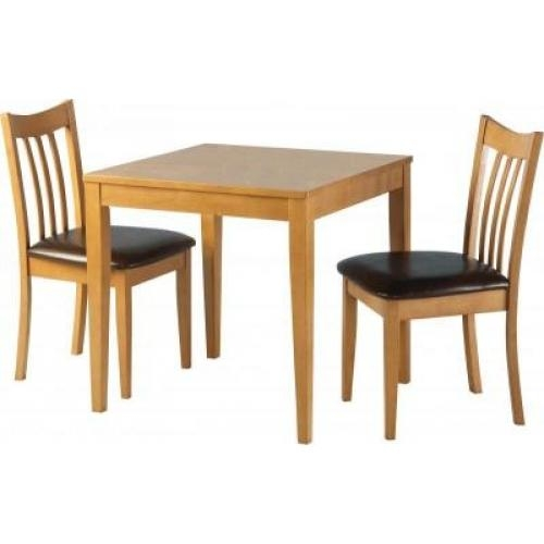 Marvelous Dining Table With Two Chairs Round Small Kitchen Within Two Seater Dining Tables (View 10 of 20)