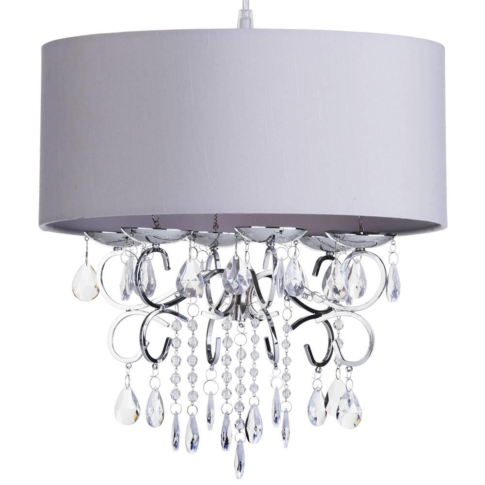 Marvelous Grey Chandelier Shades Picture Inspirations Grayght With Grey Chandeliers (Image 23 of 25)