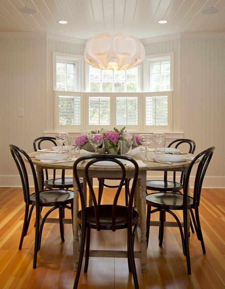 Marvelous Half Moon Kitchen Table Dining Room Rustic With Round Inside Round Half Moon Dining Tables (View 9 of 20)