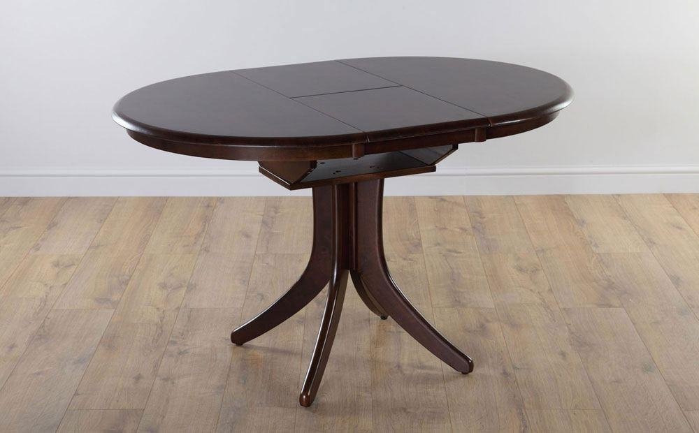 Marvelous Ideas Round Extending Dining Table Round Dining Table Regarding Round Dining Tables Extends To Oval (Image 11 of 20)