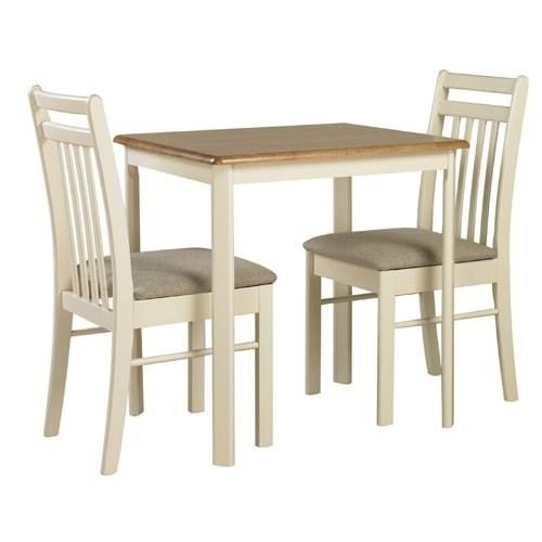 Marvelous Small Oak Dining Table And 2 Chairs Small Kitchen Oak Within Two Seater Dining Tables (View 18 of 20)