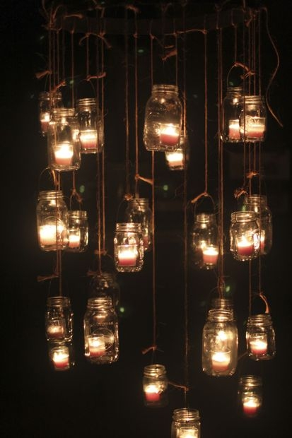 Mason Jar Candle Chandeliers 6 Steps With Pictures Intended For Hanging Candle Chandeliers (Image 17 of 25)