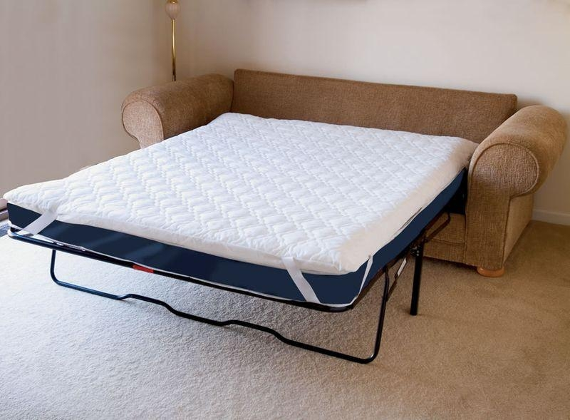 Mattress Pad For Sofa Bed And Sofa Bed Mattresses Sleeper Sofa Pertaining To Sleeper Sofas Mattress Covers (Image 8 of 20)