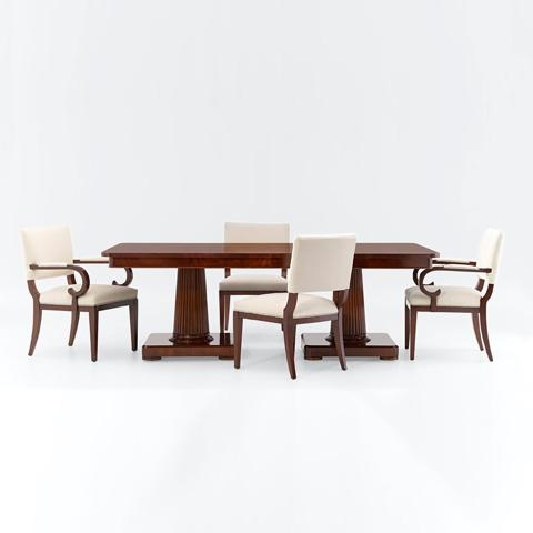 Mayfair Double Pedestal Dining Table | 1855 20 | Ralph Lauren For Victor Dining Tables (Image 8 of 20)