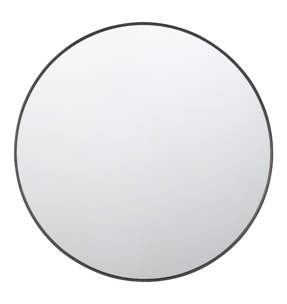Metal Framed Mirror – Round | Rejuvenation Intended For Large Round Black Mirror (Image 15 of 20)