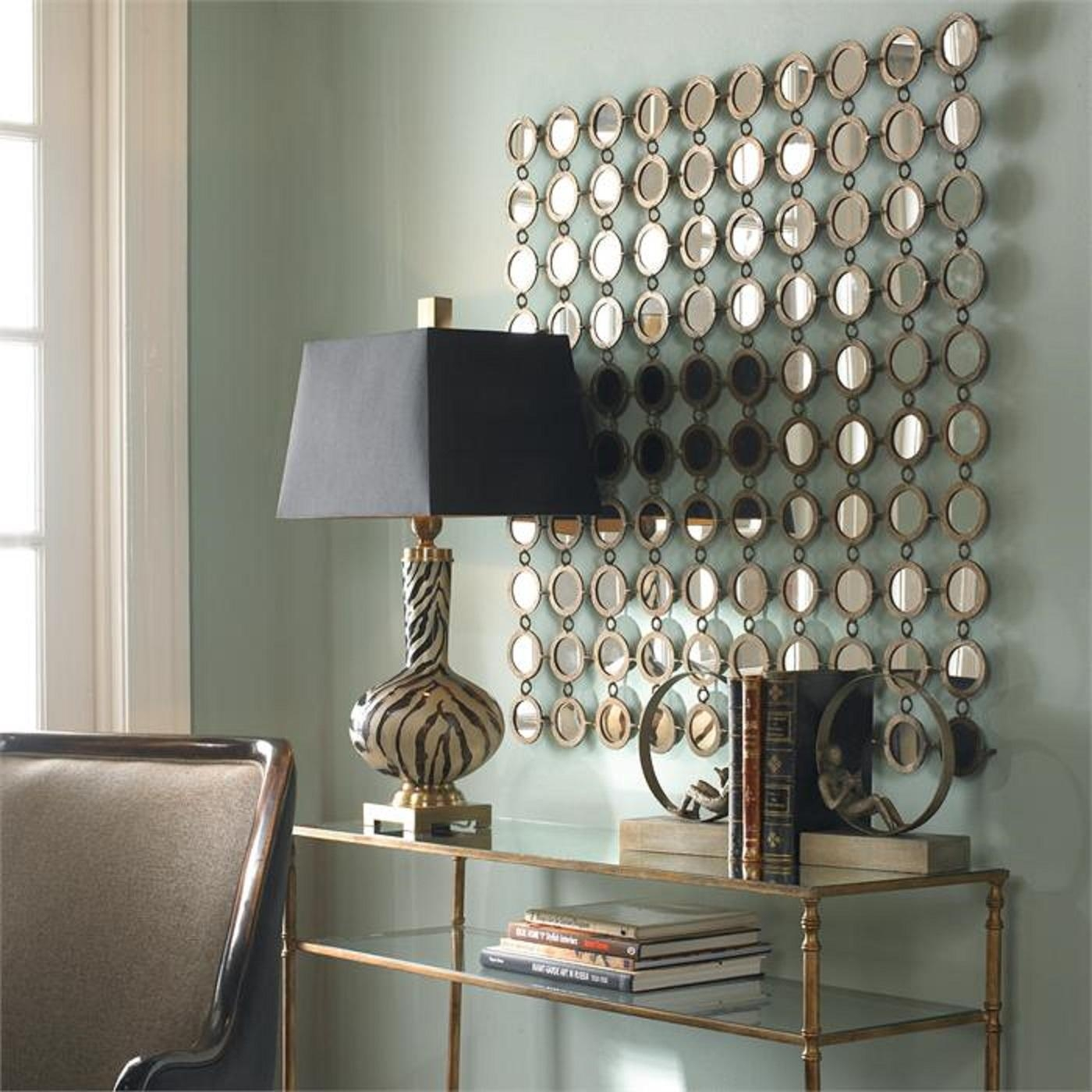 Metal Mirror Wall Decor | Jeffsbakery Basement & Mattress Pertaining To Antique Round Mirrors For Walls (Image 14 of 20)
