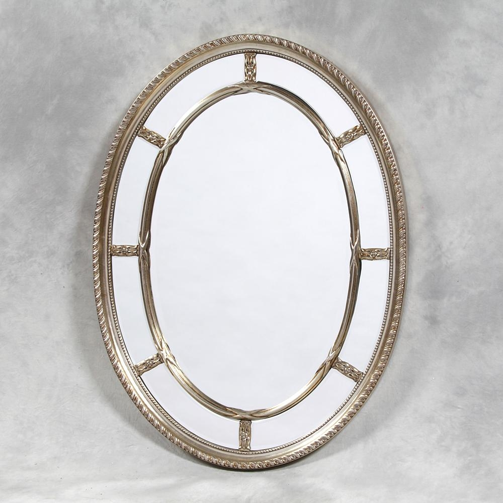 Metal Oval Wall Mirror Archives – Mirror Base In Venetian Oval Mirror (Image 12 of 20)