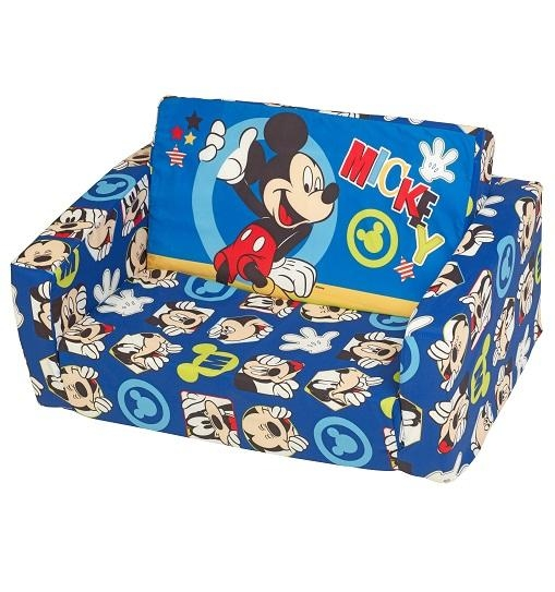 Mickey Mouse Flip Out Sofa, Mickey Sofa – Avworld With Mickey Flip Sofas (Image 7 of 20)