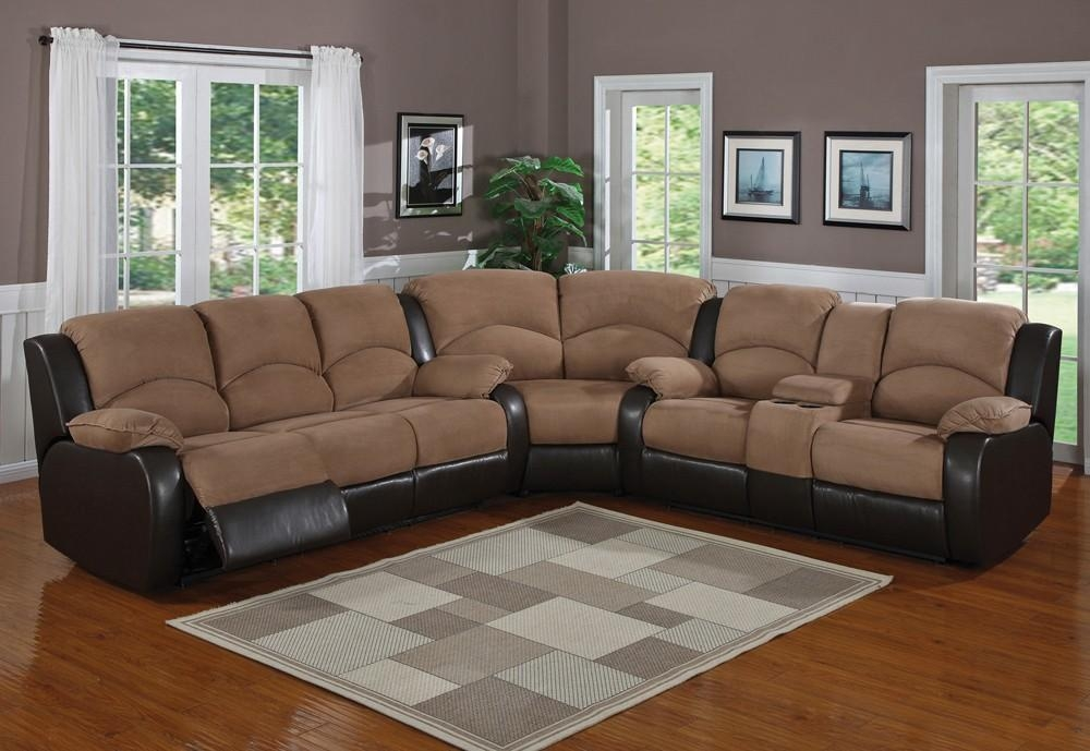 Microfiber Sectional Sofa With Chaise — Prefab Homes Regarding Black Microfiber Sectional Sofas (Image 13 of 20)