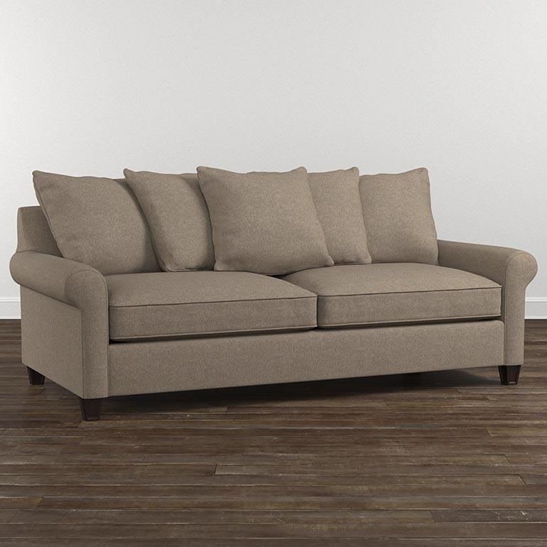 Microfiber Sofa In Microsuede Sleeper Sofas (Image 11 of 20)