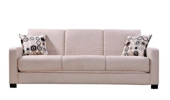 Microsuede Sleeper Sofa – Microsuede Sleeper Sofa, Microsuede Within Microsuede Sleeper Sofas (Image 17 of 20)