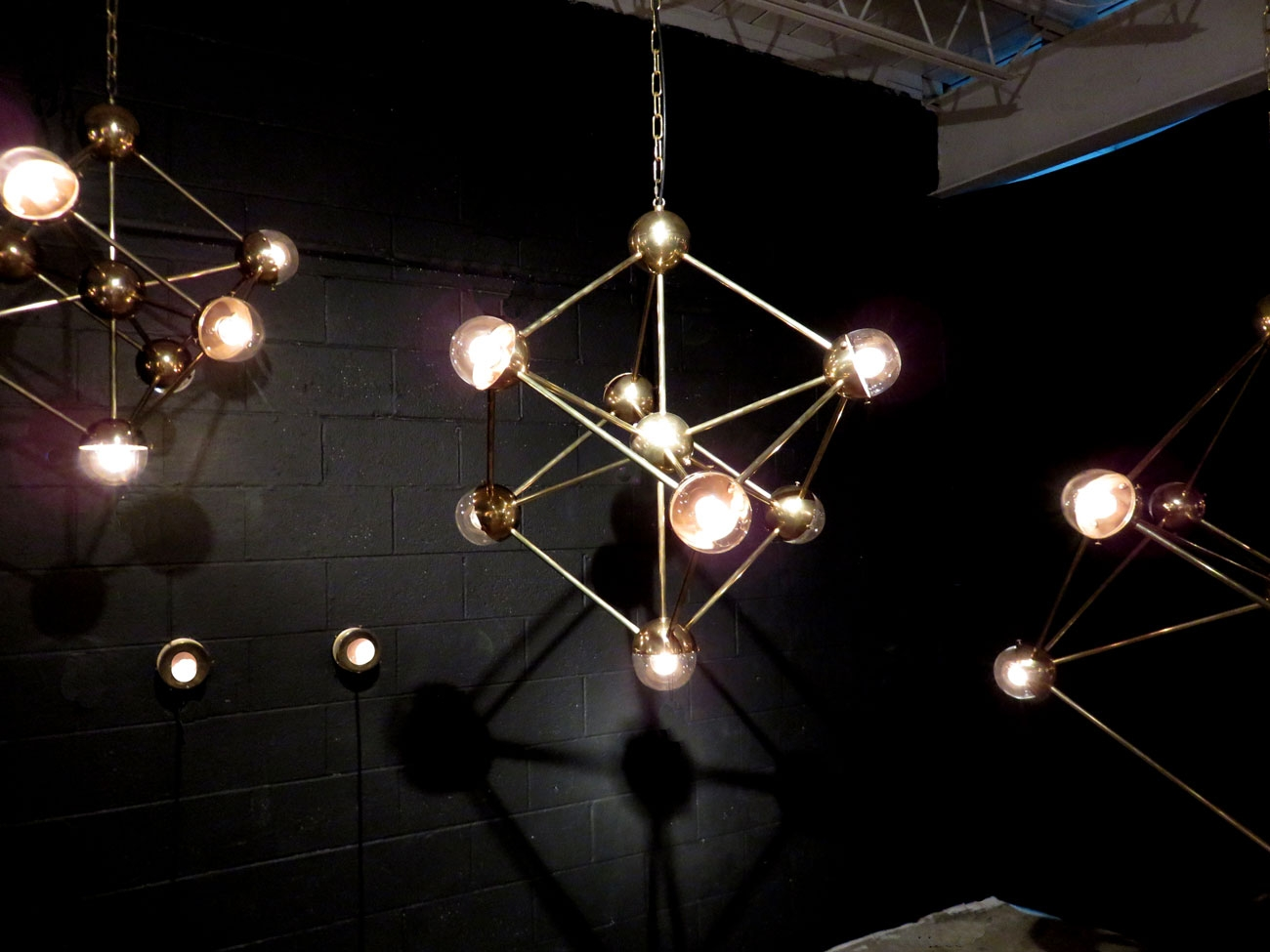 Mid Century Atom Chandelier Hudson Goods Blog Intended For Atom Chandeliers (Image 13 of 25)