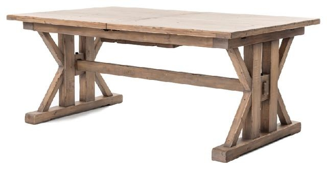Miles Dining Table – Farmhouse – Dining Tables  Seldens Furniture With Regard To Traditional Dining Tables (Image 12 of 20)