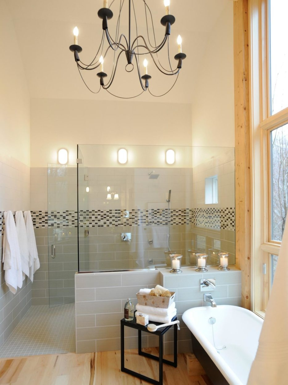 Mini Chandeliers For Bathroom Chandelier Inspiration And Inside Chandelier Bathroom Lighting (Image 18 of 25)