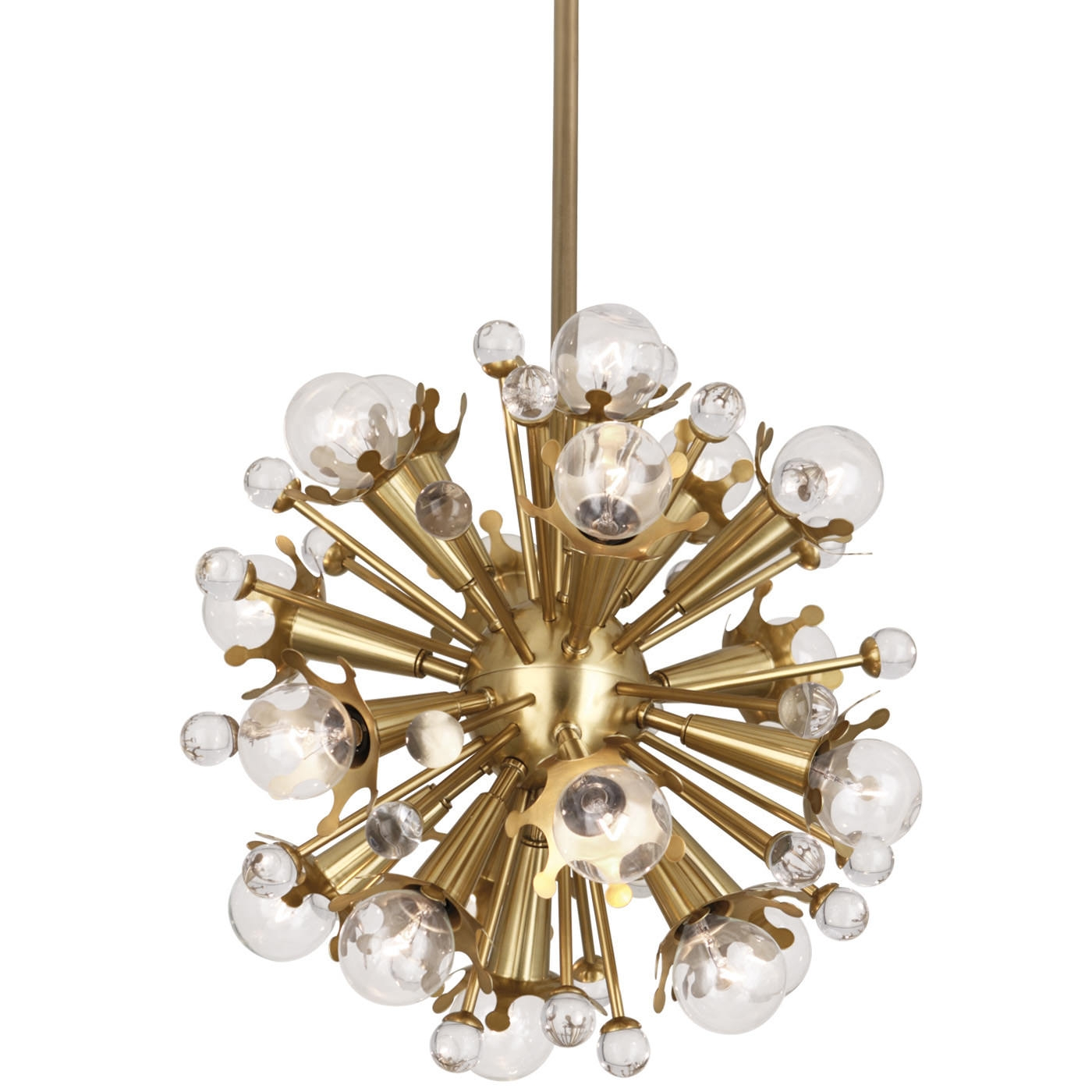 Mini Sputnik Chandelier Modern Lighting Jonathan Adler With Regard To Mini Sputnik Chandeliers (Image 17 of 25)