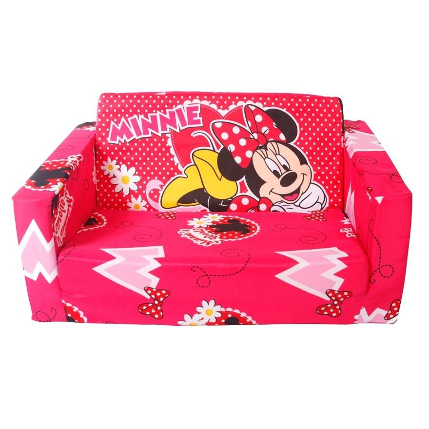 Minnie Mouse Sofa Throughout Mickey Flip Sofas (Image 9 of 20)