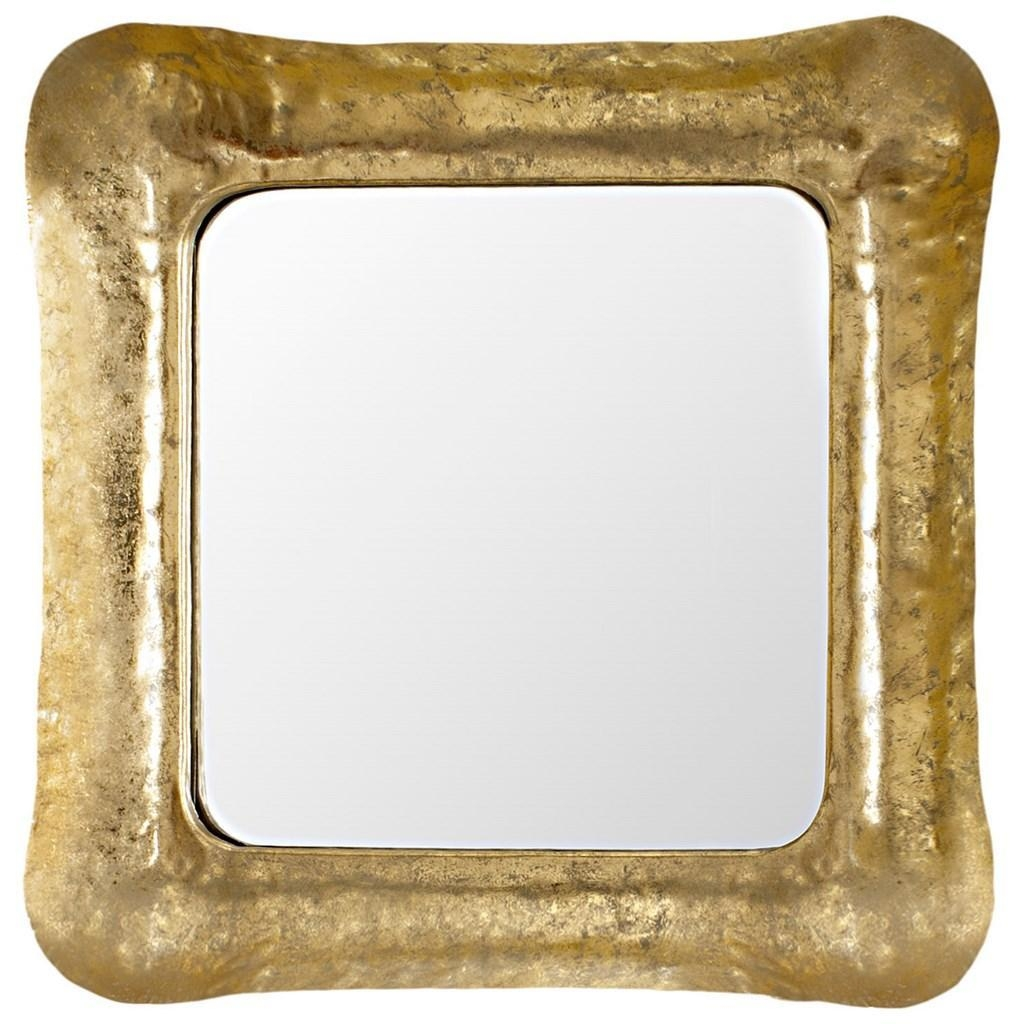 Featured Image of Square Gold Mirror