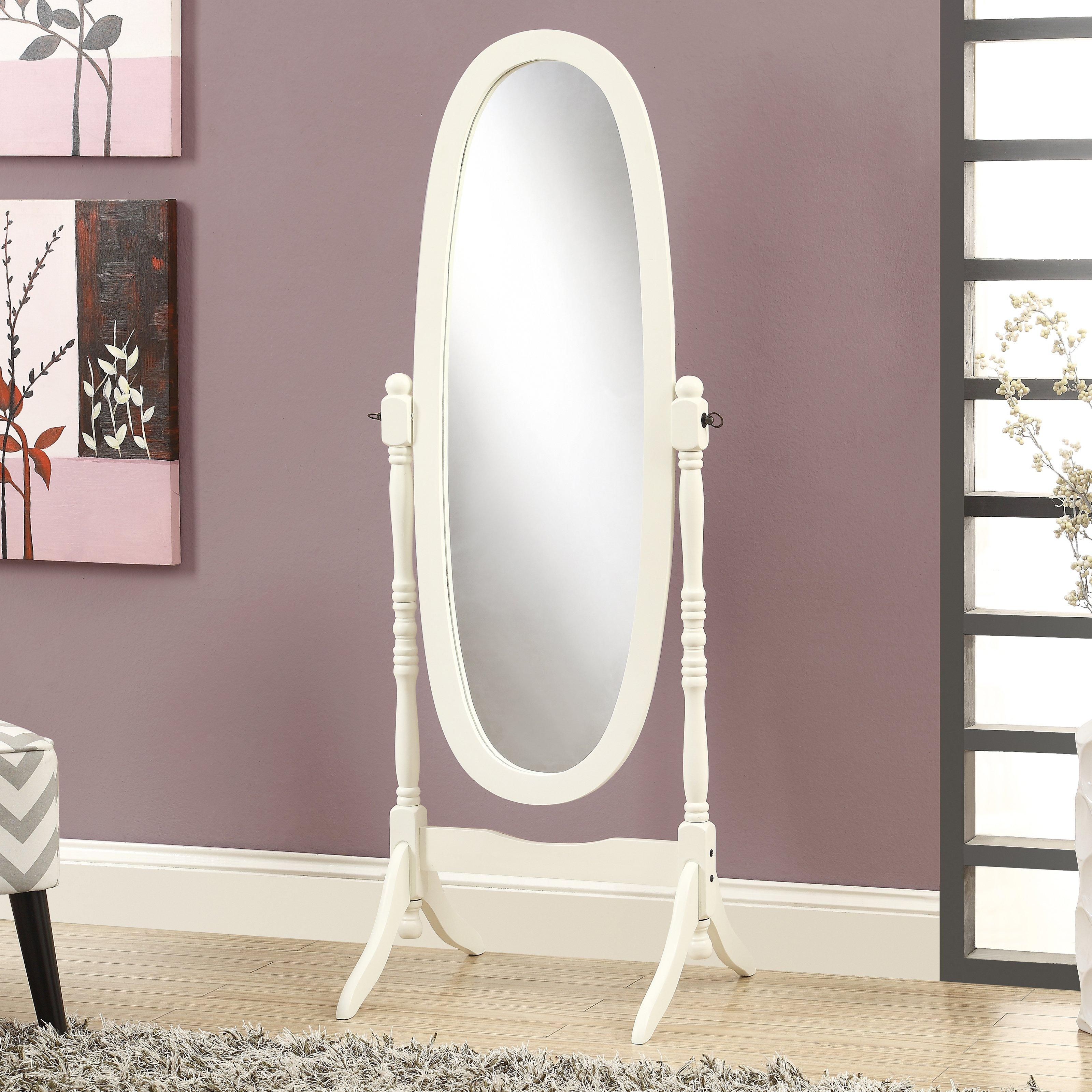 20 Inspirations Antique White Oval Mirror Mirror Ideas