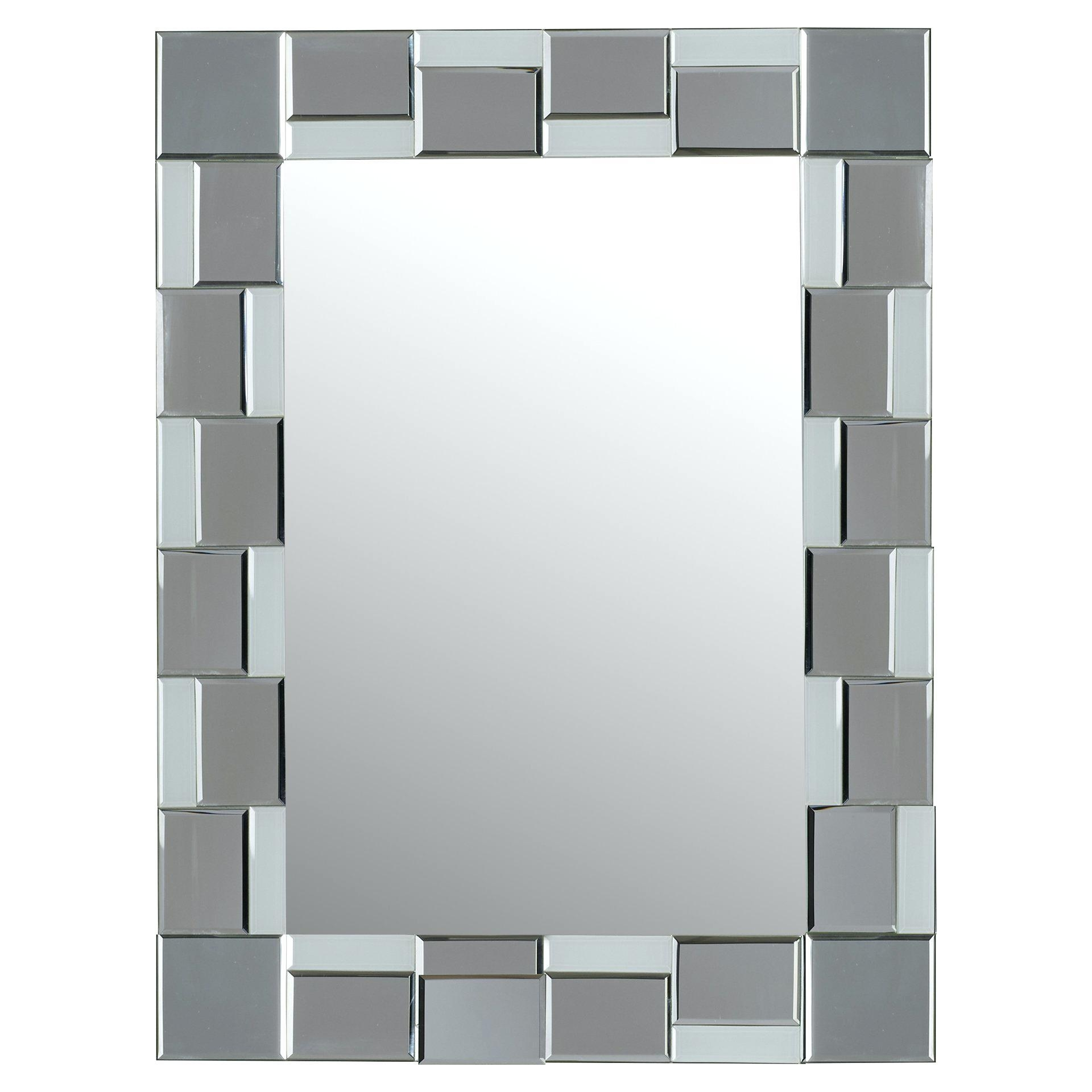 Mirror A Tekema Rectangle Frameless Wallframeless Wall Mirrors For In Frameless Wall Mirrors (Image 8 of 20)