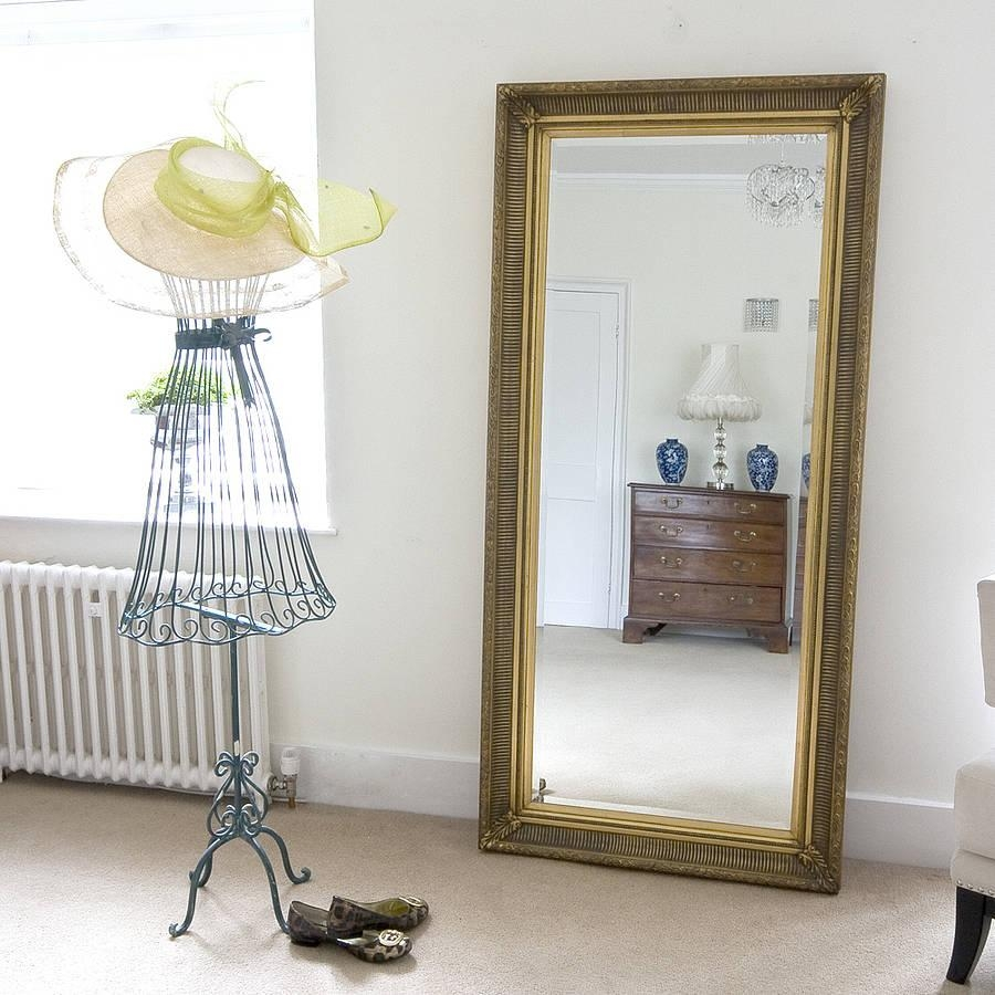 Mirror – Growing 4 Life Within Gold Full Length Mirror (Image 16 of 20)