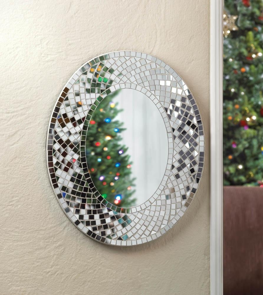 Mirror Living Room Sparkle – Carameloffers Regarding Glitter Wall Mirror (Image 13 of 20)