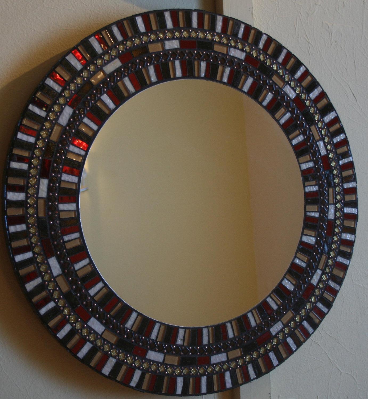 Mirror Mosaic Piedras Mosaic Frames Mirrors Pinterest (View 9 of 20)