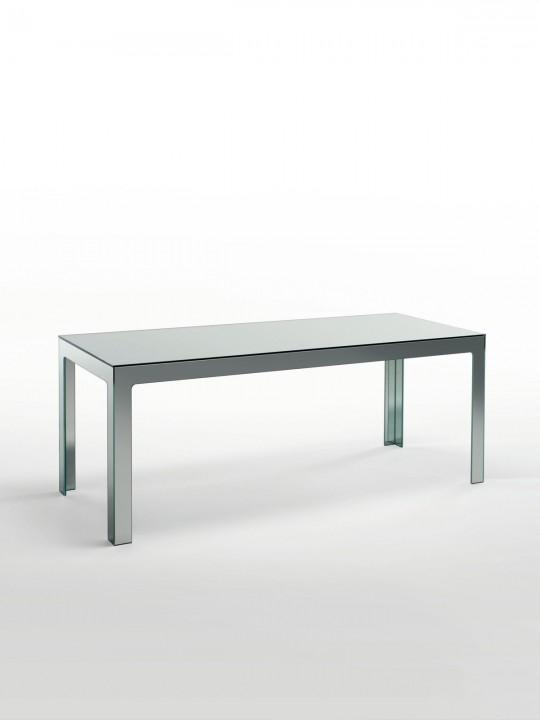Mirrored Console Table – Designedjasper Morrison For Glas Italia Pertaining To Mirror Glass Dining Tables (Image 17 of 20)