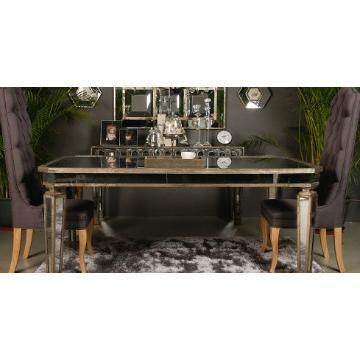 Mirrored Dining Table (Image 16 of 20)