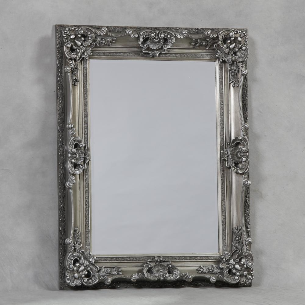 Mirrors And More » Wall Mirrors – Medium Within Small Silver Mirrors (Image 11 of 20)