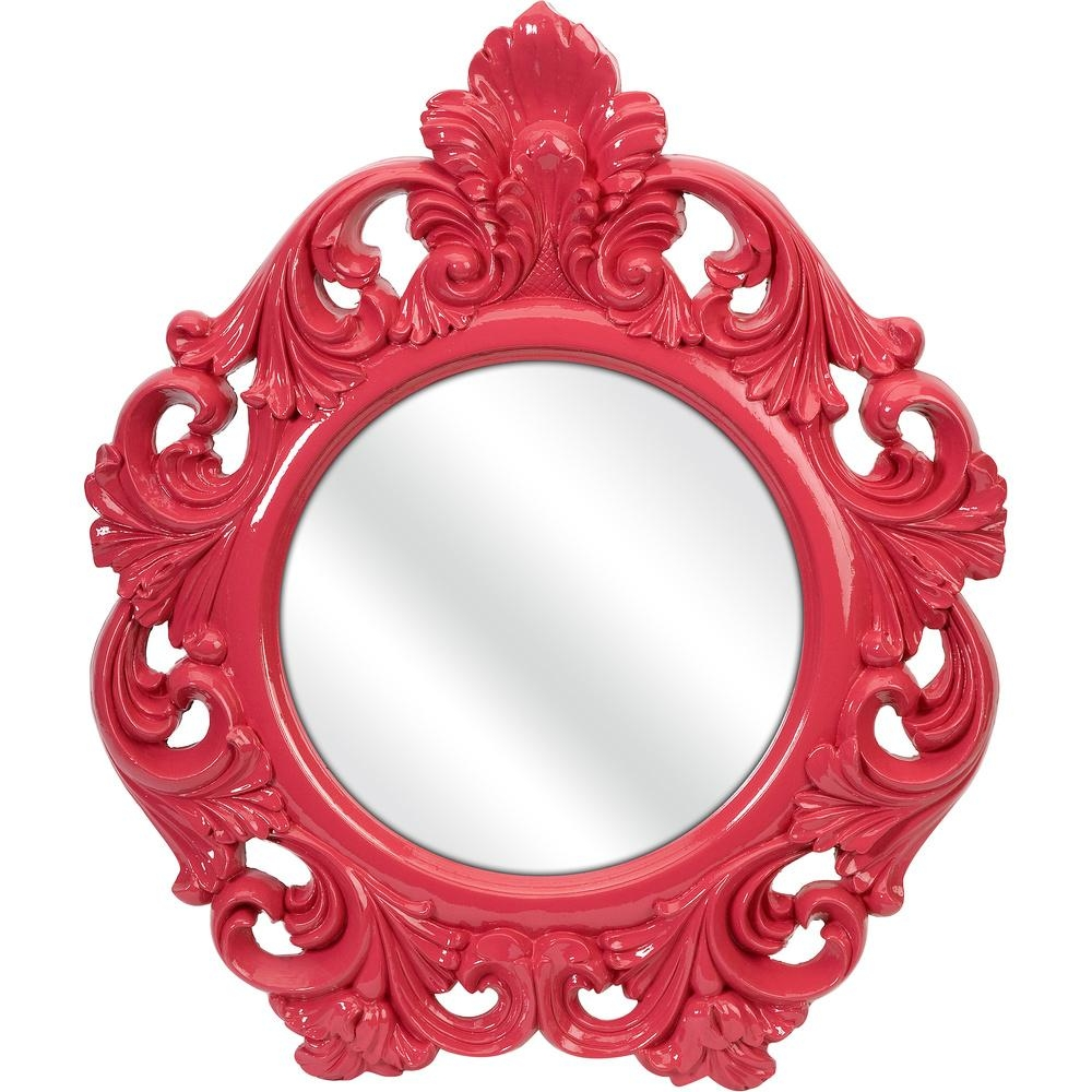 Mirrors In The Nursery – Project Nursery With Regard To Small Baroque Mirror (Image 11 of 20)
