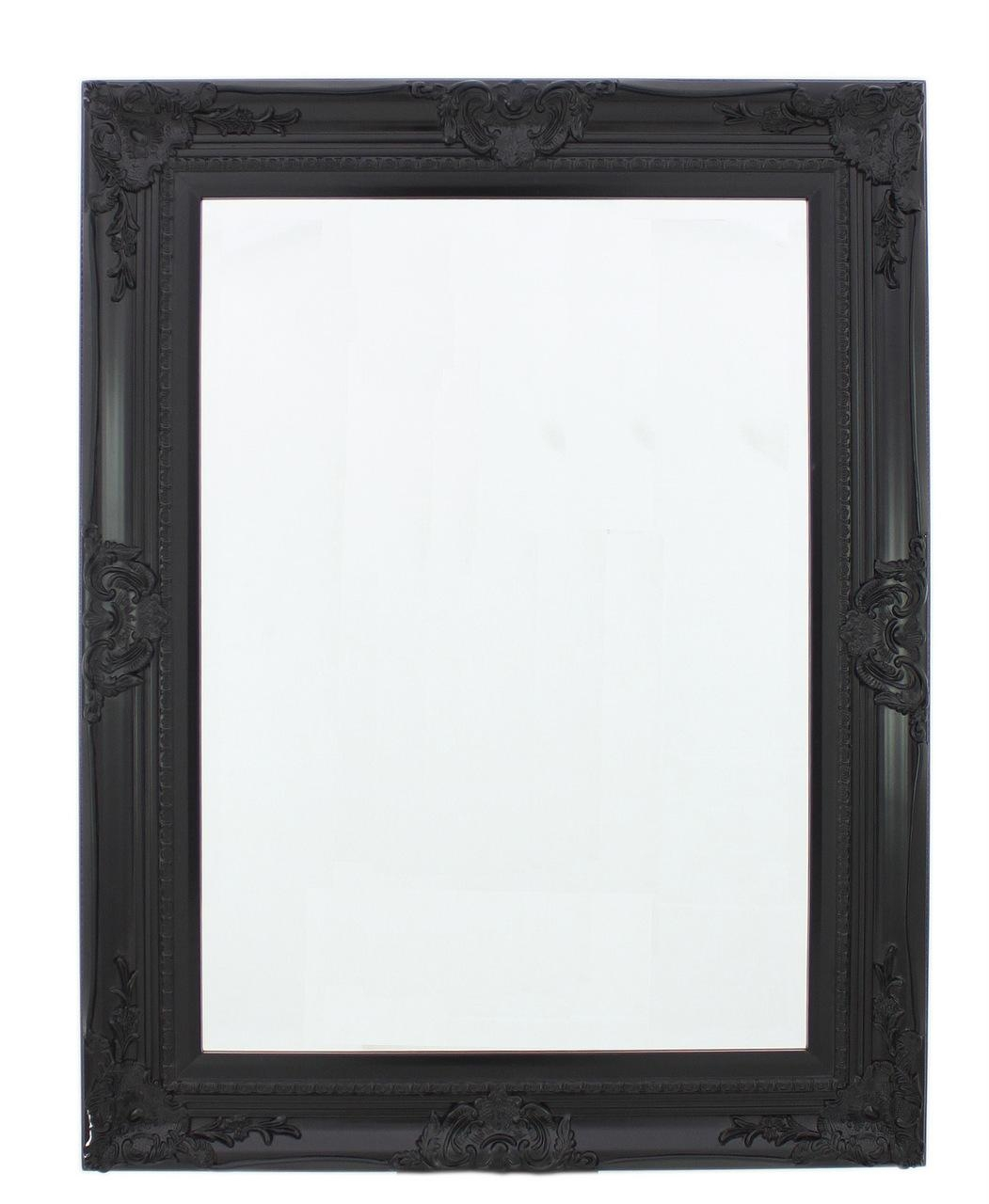 Mirrors : Pure Comfort, Pure Comfort Furniture With Regard To Baroque Black Mirror (Image 16 of 20)
