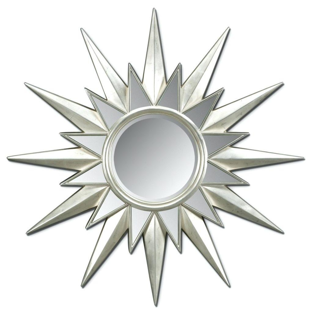 Mirrors Sunburst Accent Mirror Set Gold Small Mirrorssmall Silver For Small Silver Mirrors (Image 13 of 20)