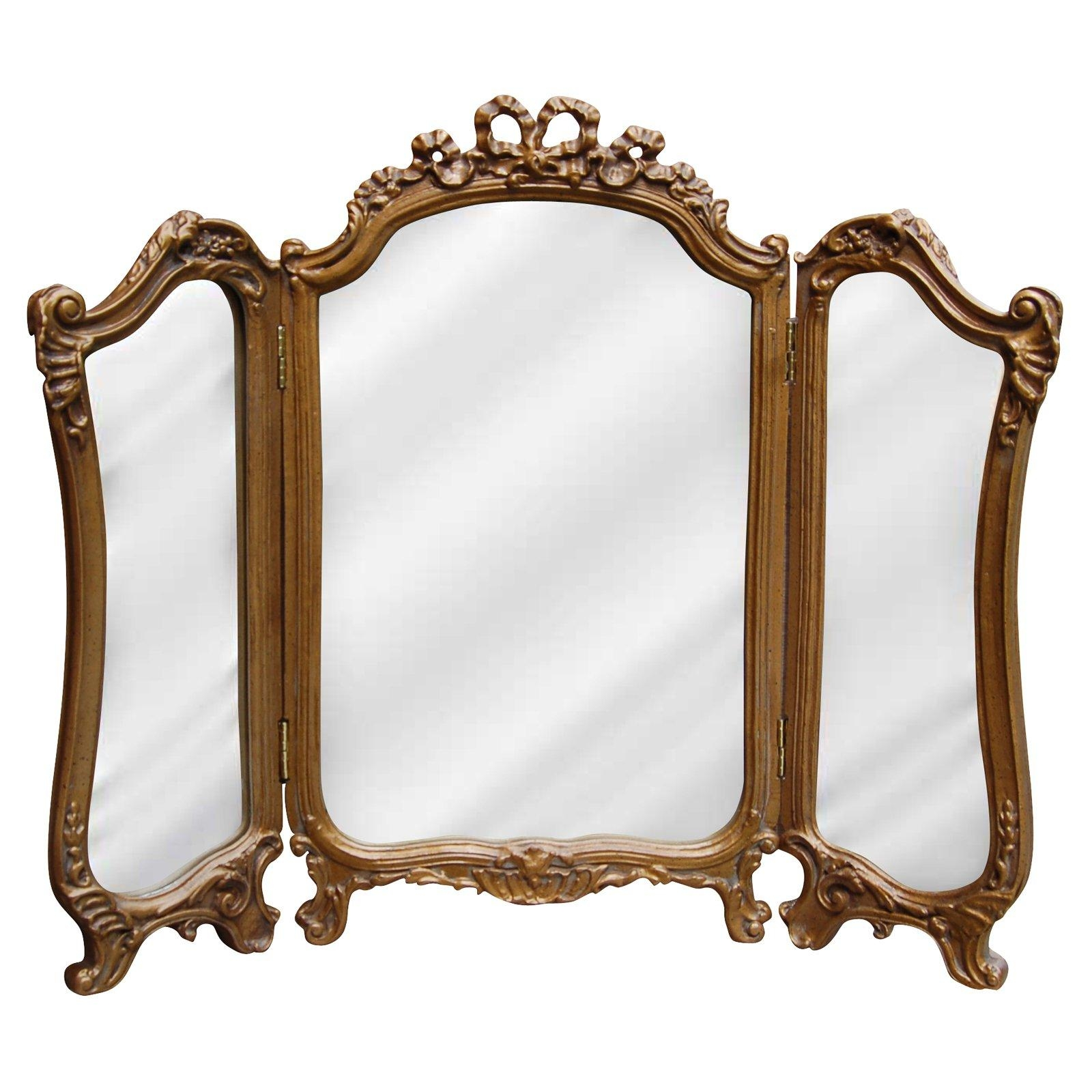 Mirrors – Walmart Regarding Vintage Gold Mirrors (Image 15 of 20)