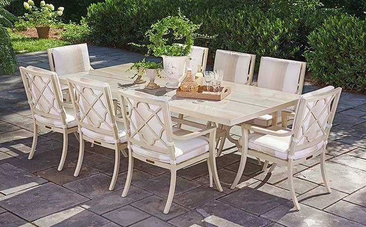 Misty Garden | Lexington Home Brands Regarding Garden Dining Tables (View 10 of 20)