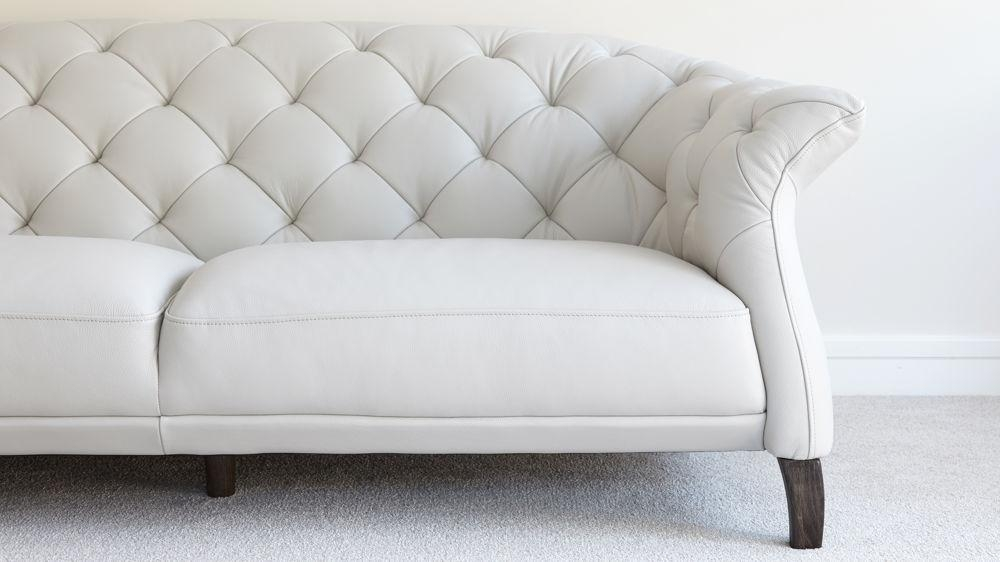 Modern 2 Seater Leather Chesterfield Sofa | Uk Within Luxe Sofas (View 9 of 20)