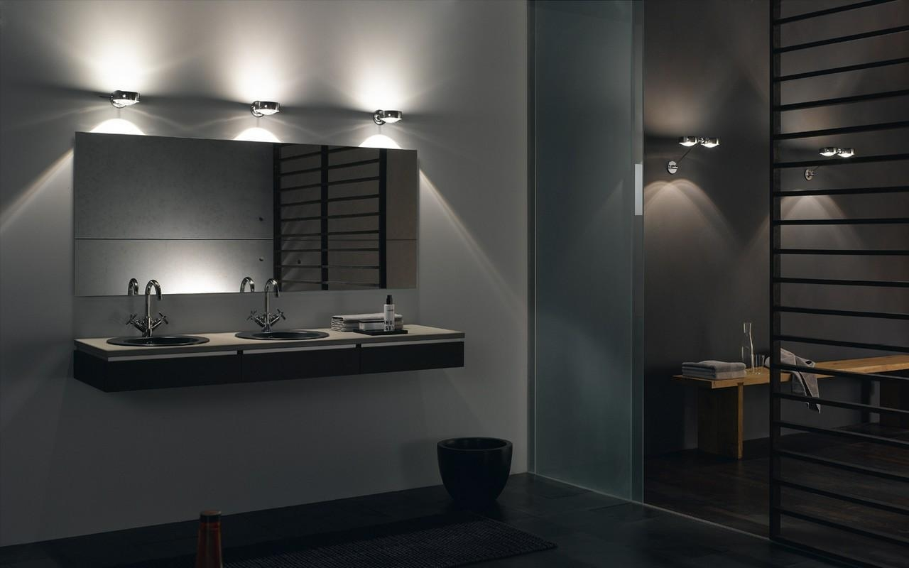 Modern Bathroom Mirrors With Led Lights The Bathroom Mirrors Pertaining To Mirrors Contemporary (Image 17 of 20)