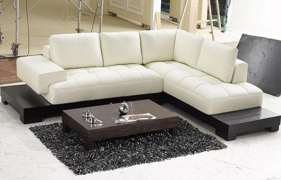 Modern Beige Leather Sectional Sofas, Modern Leather Sofa, Modern Regarding Leather Modern Sectional Sofas (View 4 of 20)