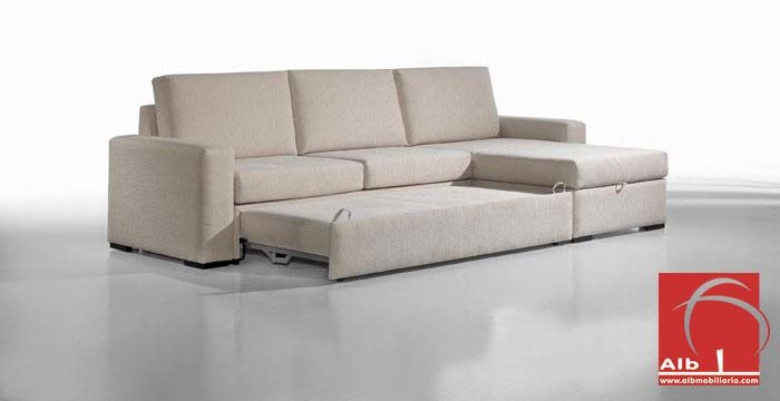 Modern Chaise Longue Sofa Bed – Thesecretconsul For Sofa Beds With Chaise Lounge (View 5 of 20)
