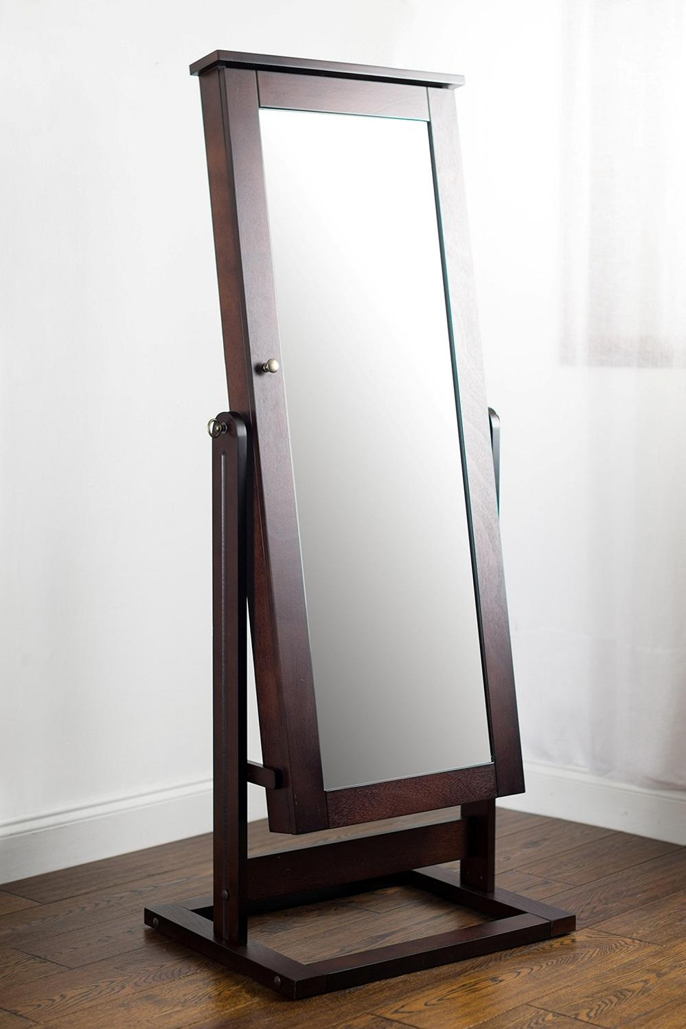 Modern Cheval Mirror Jewelry Armoire — Curtain – Mirrors – Wall Decor With Regard To Modern Cheval Mirror (View 2 of 20)