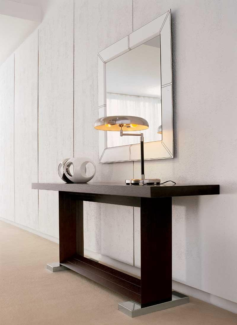 Modern Console Table With Mirror 143 Unique Decoration And Within Contemporary Hall Mirrors (Image 19 of 20)