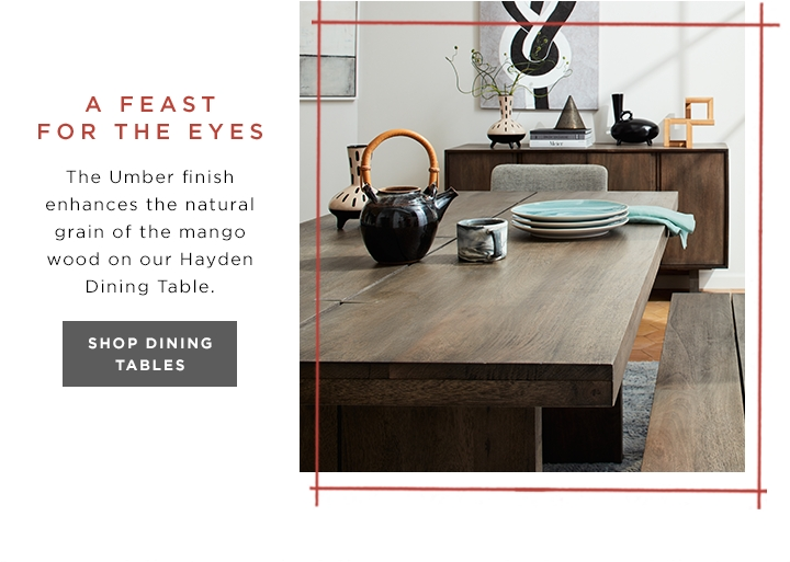 Modern & Contemporary Furniture | West Elm Intended For Hayden Dining Tables (Image 19 of 20)