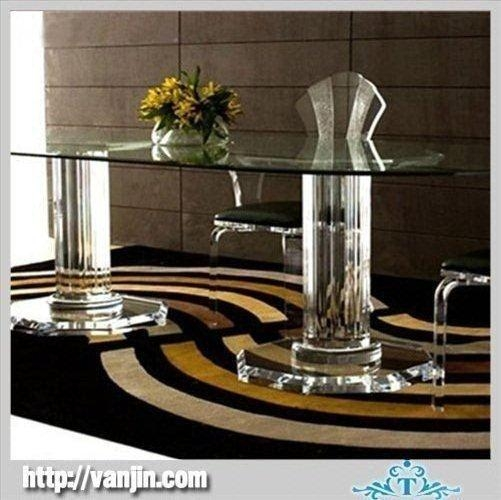 Modern Crystal Acrylic Dining Table And Chair Products, Buy Modern With Regard To Crystal Dining Tables (View 19 of 20)