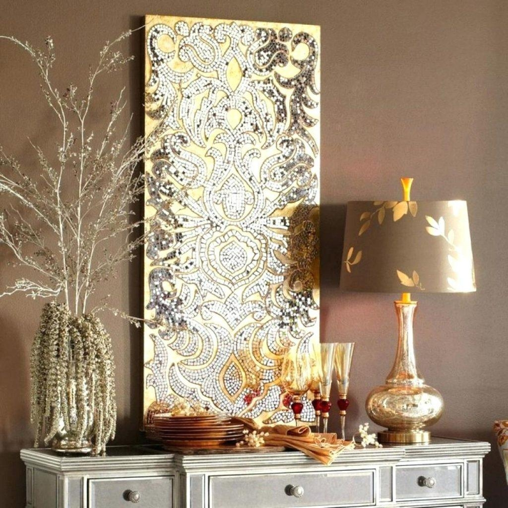 Modern Decoration Mosaic Mirror Wall Decor Splendid Ideas Regarding Large Mosaic Mirror (Image 11 of 20)