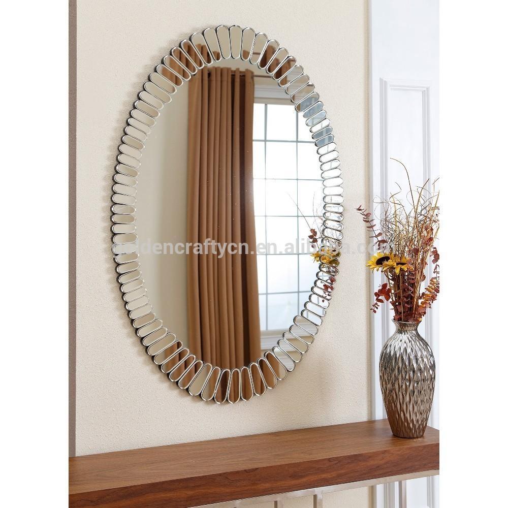 Modern Design Oval Venetian Glass Mirror – Buy Venetian Mirror For Buy Venetian Mirror (View 20 of 20)