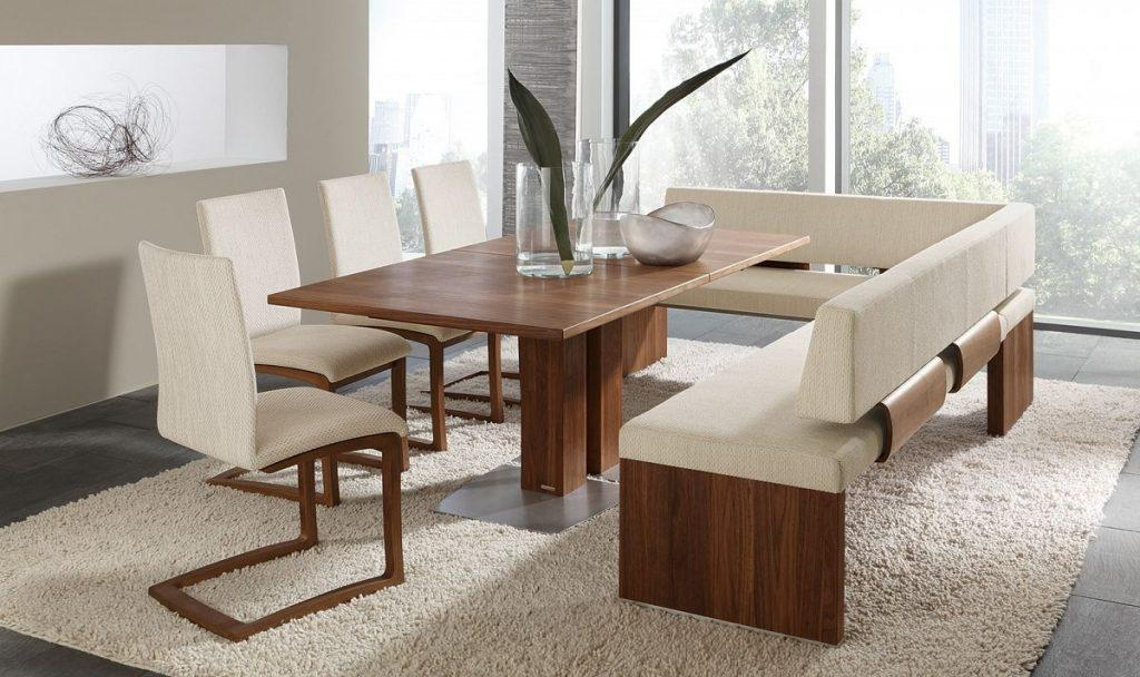 Modern Dining Benches 28 Perfect Furniture On Modern Glass Dining Intended For Bench With Back For Dining Tables (Image 18 of 20)